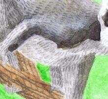 ring-tailed lemur Sticker