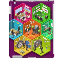 Bank 01 Cells Isometric iPad Case/Skin