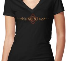Numenera Logo and Symbol-Women's Fitted Scoop, V-Neck, & Relaxed Fit Women's Fitted V-Neck T-Shirt