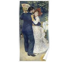 Auguste Renoir - Country Dance 1883 Poster