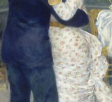 Auguste Renoir - Country Dance 1883 Sticker