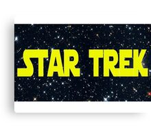 Star Wars/Trek Canvas Print
