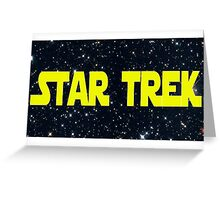 Star Wars/Trek Greeting Card