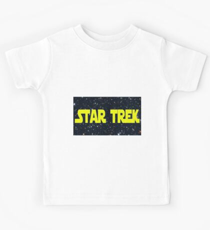 Star Wars/Trek Kids Tee