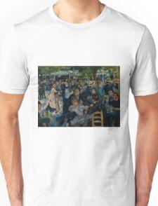 Auguste Renoir - Dance at Le Moulin de la Galette 1876 Unisex T-Shirt
