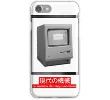 modern time machine iPhone Case/Skin