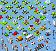 City-01-COMPLETE-Set-Isometric by aurielaki