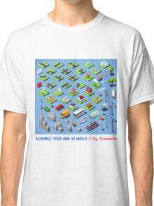 City-01-COMPLETE-Set-Isometric Classic T-Shirt