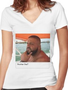 DJ Khaled's Ultimate Decision Women's Fitted V-Neck T-Shirt