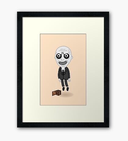 The Gentlemen Pop  Framed Print