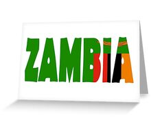 Zambia Greeting Card
