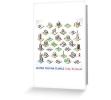 Game-Set-01-Building-Isometric Greeting Card