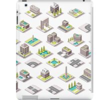 Game-Set-01-Building-Isometric iPad Case/Skin