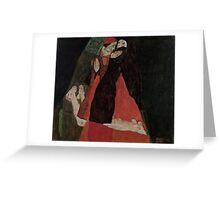 Egon Schiele - Cardinal and Nun Caress 1912  Egon Schiele  Kiss  Greeting Card