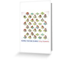 Game-Set-03-Building-Isometric Greeting Card