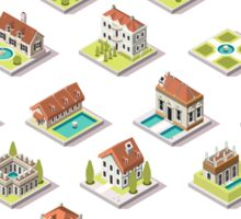 Game-Set-03-Building-Isometric Sticker