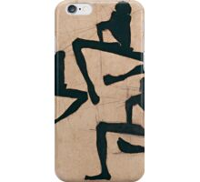 Egon Schiele - Composition with Three Male Nudes 1910 iPhone Case/Skin