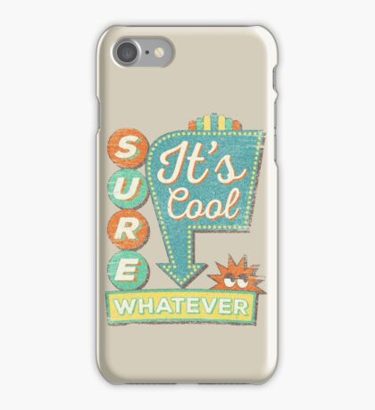 IT'S A SURE SIGN! iPhone Case/Skin