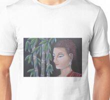 buddha with Bamboo Unisex T-Shirt