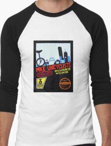 MKE Unicyclists Men's Baseball ¾ T-Shirt