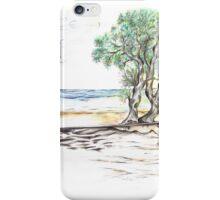 Tranquil Sandy Beach iPhone Case/Skin