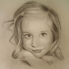 Portrait of a girl by Zoran Kudra