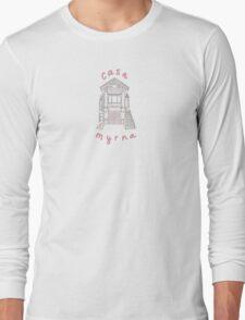 Casa Myrna Script Long Sleeve T-Shirt