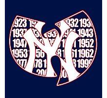 New York Yankees- Wu Tang mash up Championship years Photographic Print