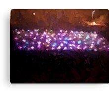 Lights games Canvas Print