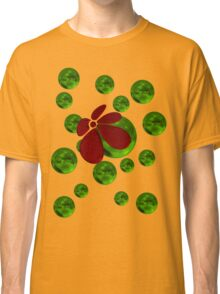 Balls with red flower Classic T-Shirt