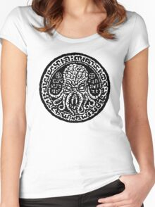 Cthulhu Stone Women's Fitted Scoop T-Shirt