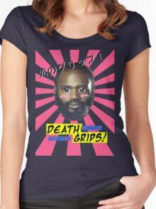 Death Grips - No Love Desu Web Women's Fitted Scoop T-Shirt