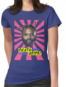 Death Grips - No Love Desu Web Womens Fitted T-Shirt