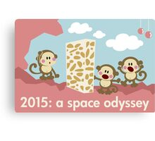 2015: a space odyssey Canvas Print