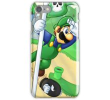 Flagpole Luigi iPhone Case/Skin