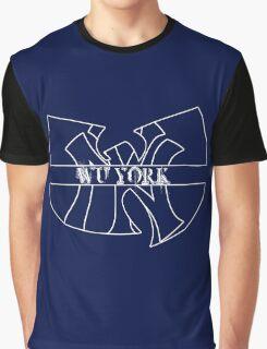 Wu York - New York Yankees- Wu Tang mash up Graphic T-Shirt