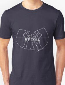 Wu York - New York Yankees- Wu Tang mash up T-Shirt