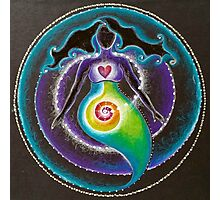 Spiral Goddess Photographic Print