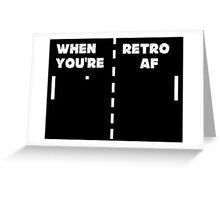 Retro T-Shirt + Hoodie Greeting Card