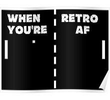 Retro T-Shirt + Hoodie Poster