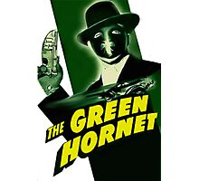 Vintage Green Hornet Serial Movie Poster-RETRO Photographic Print