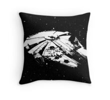 My-lennium Falcon Throw Pillow