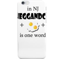 Bacon egg and cheese- NJ iPhone Case/Skin