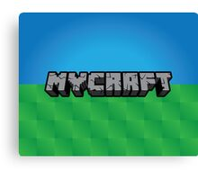 Mycraft Canvas Print