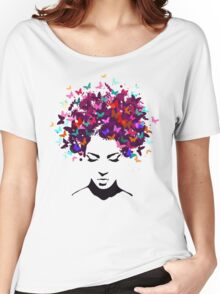 Butterflies Beauty Women's Relaxed Fit T-Shirt