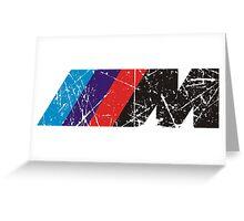 BMW ///M logo Greeting Card