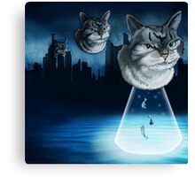 Alien kitten Canvas Print