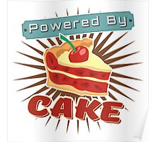 Powered by Cake Poster
