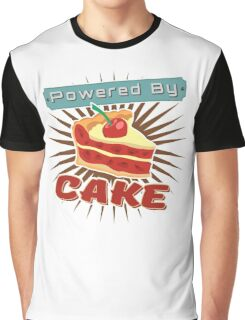 Powered by Cake Graphic T-Shirt