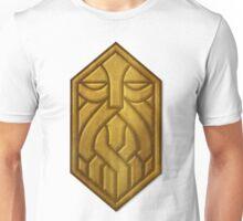 Golden Dwarven Sigil Unisex T-Shirt